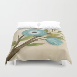 Botanica Blue Duvet Cover