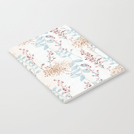 Floral Pattern 09 Notebook