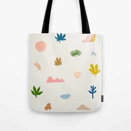 Abstraction_Nature_Wonderful_Day_02 Tote Bag