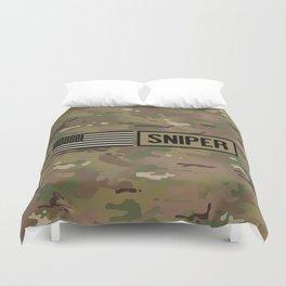 Military: Sniper (Camo) Duvet Cover