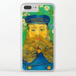 Vincent van Gogh - Portrait of Joseph Roulin Clear iPhone Case