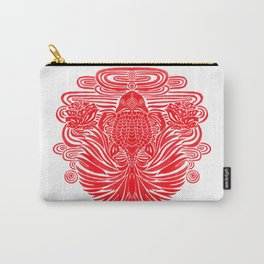 The Red Goldfish Carry-All Pouch