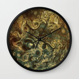 Jupiter's Clouds 2 Wall Clock