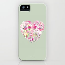 Blush Heart iPhone Case