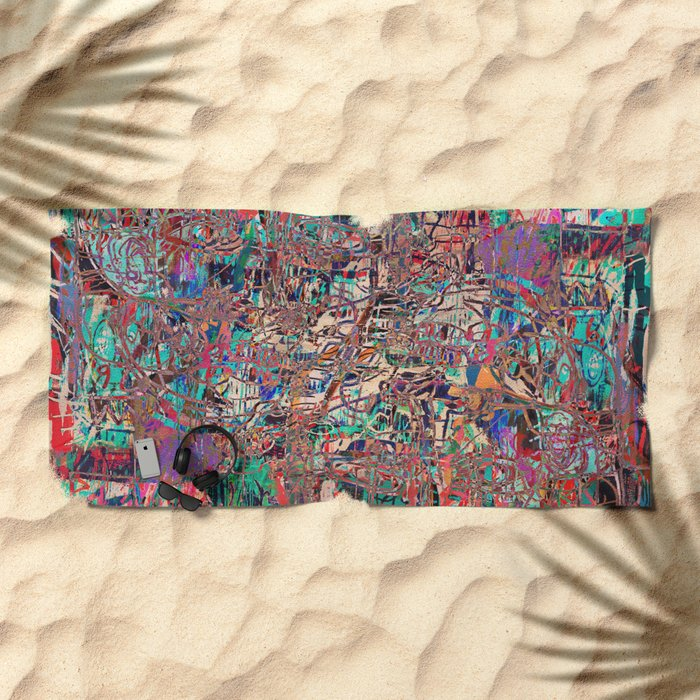 Opinion and Vodka Beach Towel