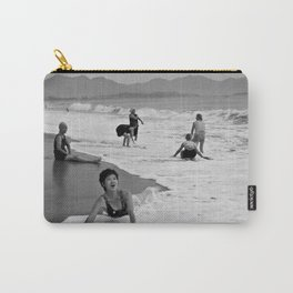 Bathing Woman in Vietnam - analog Carry-All Pouch
