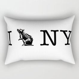 I RAT NYC Rectangular Pillow