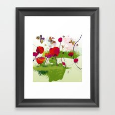 Spring's coming Framed Art Print