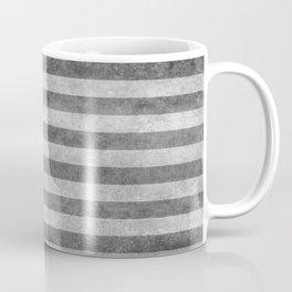 American flag - retro style in grayscale Coffee Mug