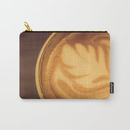 Flat White Carry-All Pouch