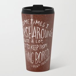 HOLDEN CAULFIELD Travel Mug