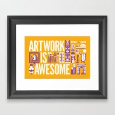 Artwork is ... Framed Art Print