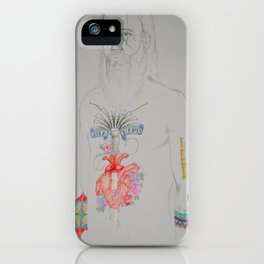 Tattoo Guy No.2 - Collaboration iPhone Case