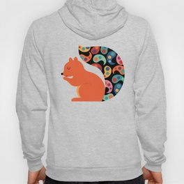Paisley Squirrel Hoody