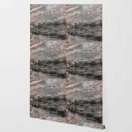 Smokey gray marble Wallpaper