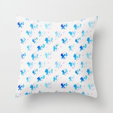 Day 001: Margot's Daily Pattern Throw Pillow