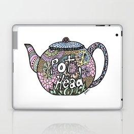 Tea Pot Head Laptop & iPad Skin