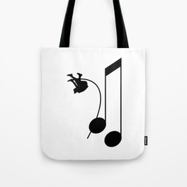 Note Vaulter Tote Bag