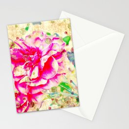 Floral theme [spring bollywood) Stationery Cards