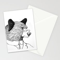 Bearing it all  Stationery Cards