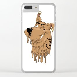 Melting Scooby Clear iPhone Case