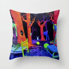 Bump in the Night Throw Pillow