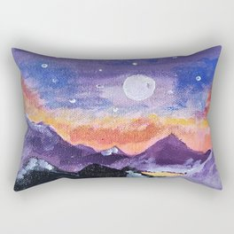 Mountain range Rectangular Pillow
