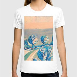 Lighted trees T-shirt