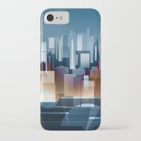metropolis iPhone & iPod Cases featuring Metropolis by Herb Vaine