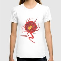 spider T-shirts featuring SPIDER by Armin Barducci