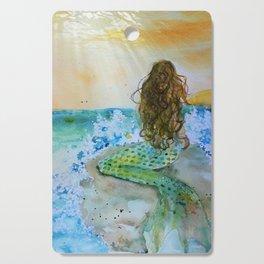 Final Joy Mermaid Cutting Board