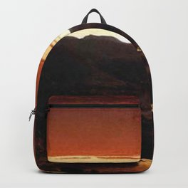 A Twilight in the Catskill Mountains by Sanford Robinson Gifford Backpack