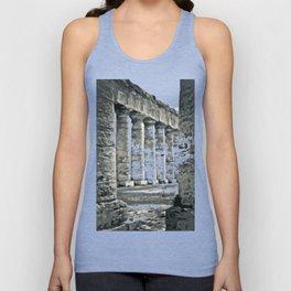 Temple of Segesta Unisex Tank Top