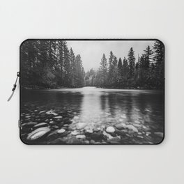 Pacific Northwest River III - Nature Photography Laptop Sleeve