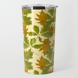 Leaves Camouflage Pattern Travel Mug