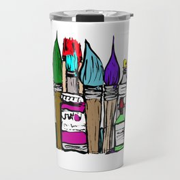 Art About Art 1 in Colour Travel Mug