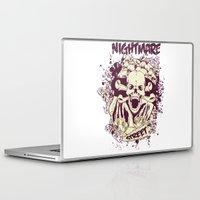 nightmare Laptop & iPad Skins featuring Nightmare by Tshirt-Factory