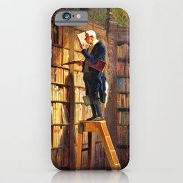 The Bookworm - Carl Spitzweg iPhone Case