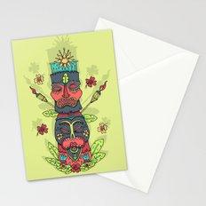 Tiki totem Stationery Cards