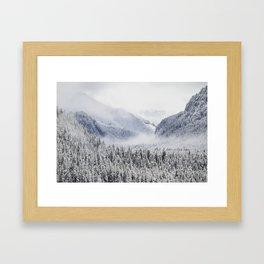 Hedwig's Homestead Framed Art Print
