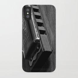 Black, White, & the Blues iPhone Case