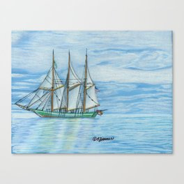 The Denis Sullivan Canvas Print