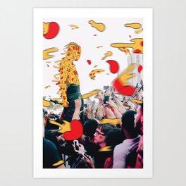 XXXpizza Art Print