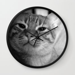 Don´t close your eyes Wall Clock