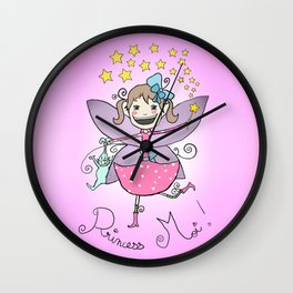 Princess Moi! Wall Clock
