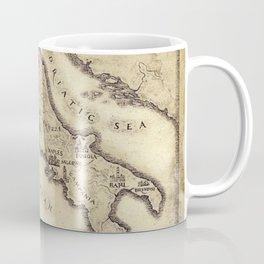 Vintage map of Italy Coffee Mug