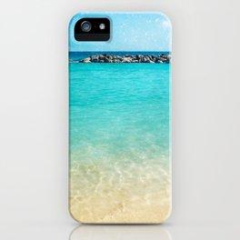 Blue Curacao iPhone Case