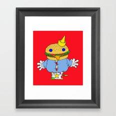 jumbo jack Framed Art Print