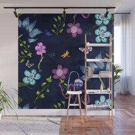Flower flow Wall Mural