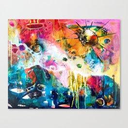 I Come to the Edge Canvas Print